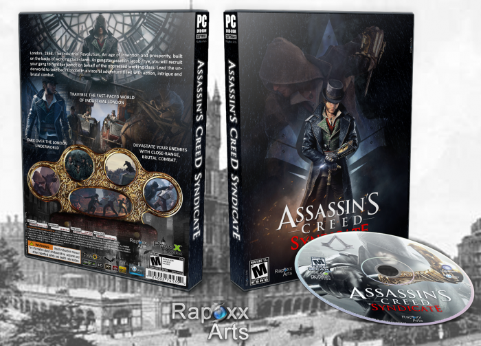 Assassin's Creed Syndicate PC Box Art Cover by Rapox_Arts