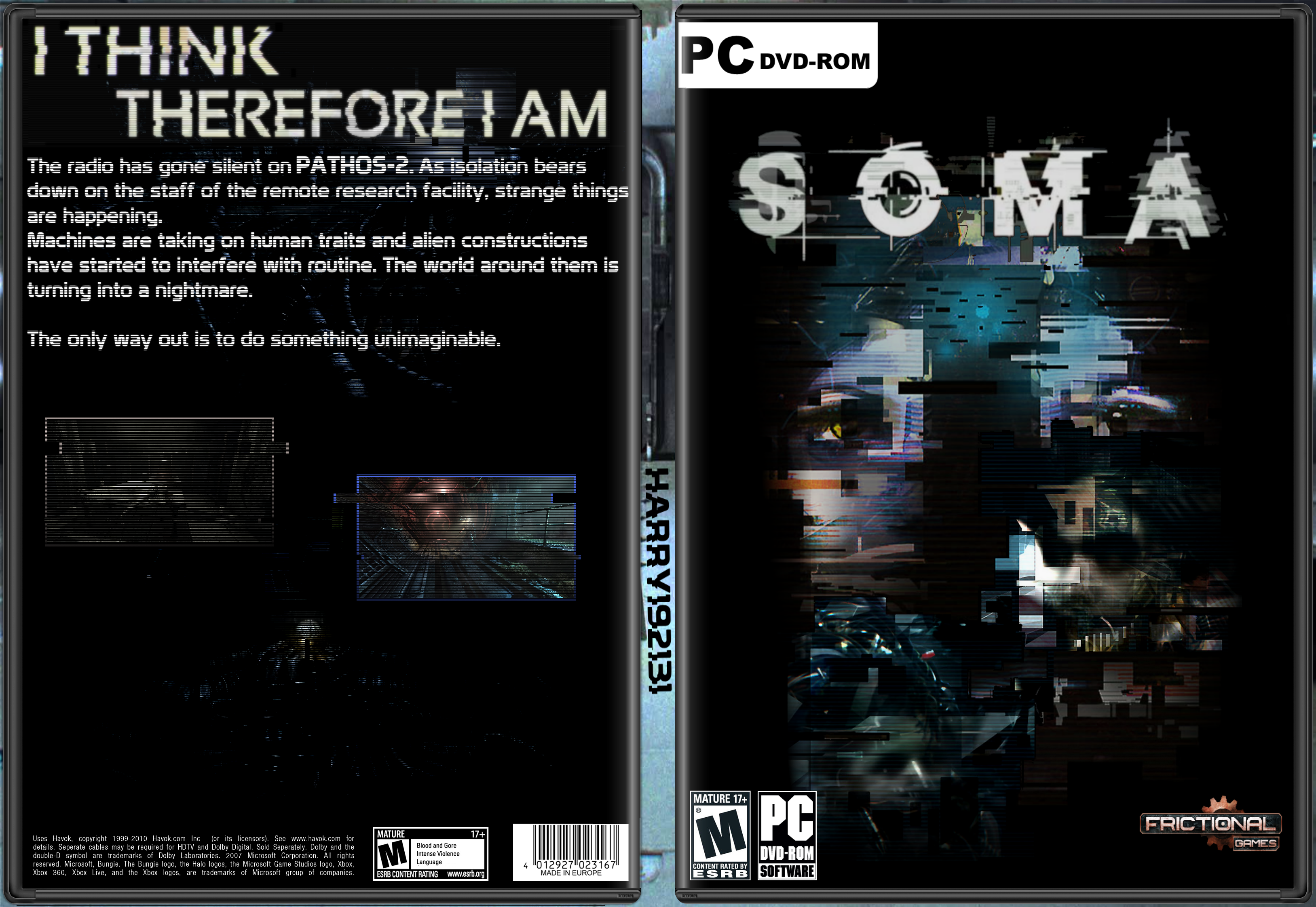 Soma Pc Box Art Cover By Harry192313