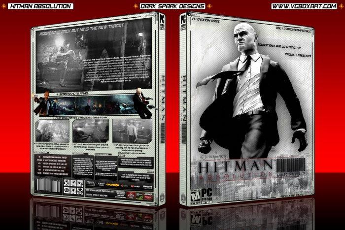 Hitman Absolution Fuse Box : Hitman absolution pc box art cover by dark spark