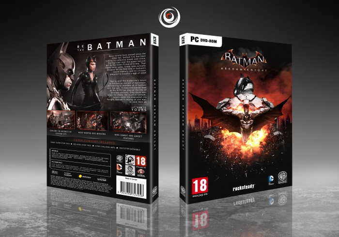 Batman Arkham Knight Pc Box Art Cover By Eximmice