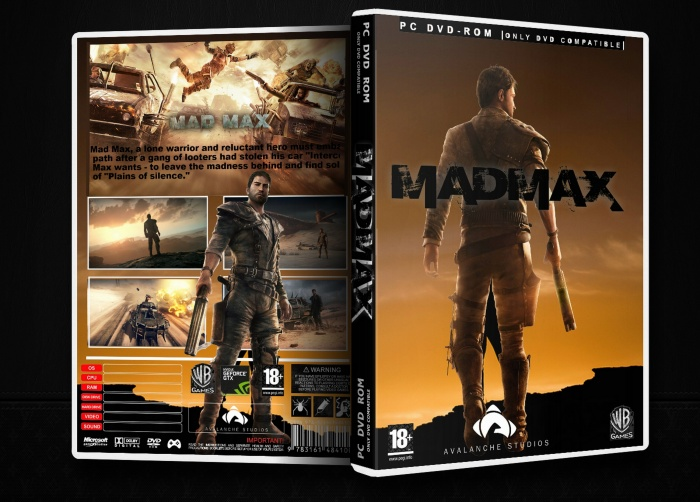 Mad Max Pc Box Art Cover By Max Payne 3