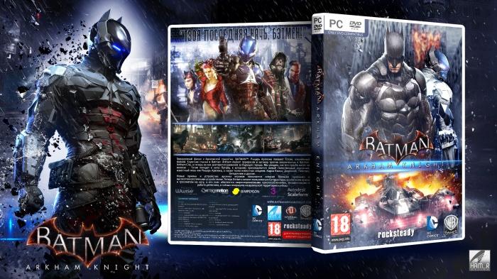 Batman Arkham Knight PC Box Art Cover by Ham_R