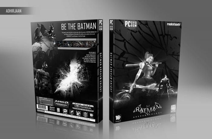 Batman Arkham Knight PC Box Art Cover by adhirjaan