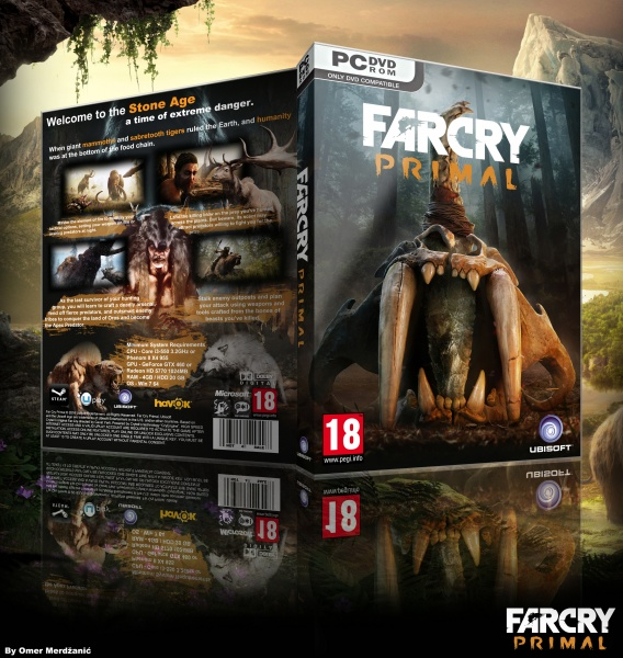 Far Cry Primal Pc Box Art Cover By Omer