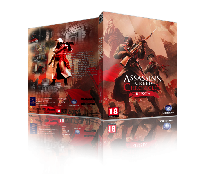 Assassin S Creed Chronicles Russia Pc Box Art Cover By Digitalburger