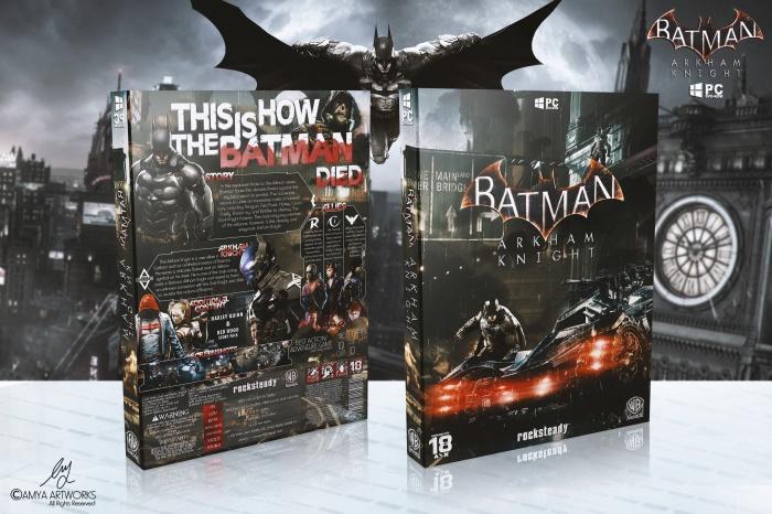 Batman Arkham Knight PC Box Art Cover by amia