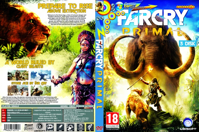 Far Cry Primal Pc Box Art Cover By Snipermanulu