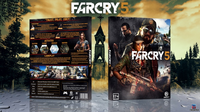 Far Cry 5 Pc Box Art Cover By Thegamer