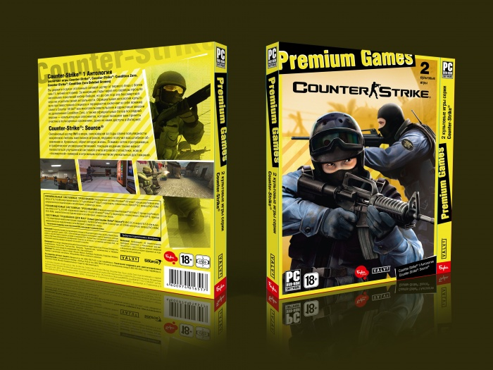 Counter Strike Pc Box Art Cover By The Godfather 2