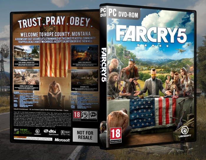 Far Cry 5 Pc Box Art Cover By Fire13spotty