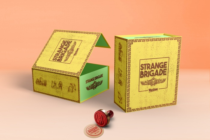 Strange Brigade box art cover