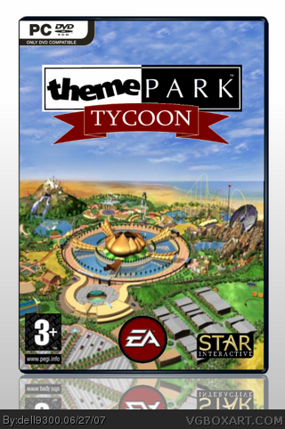 Theme Park Tycoon PC Box Art Cover by dell9300