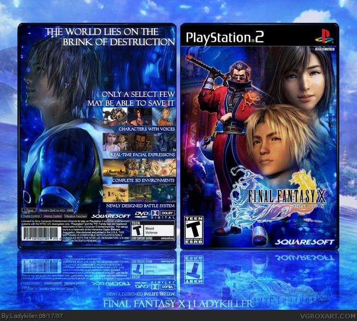 Final Fantasy 10 Cover Art