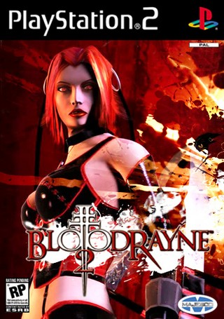 Bloodrayne 2 Playstation 2 Box Art Cover By Mejstrup