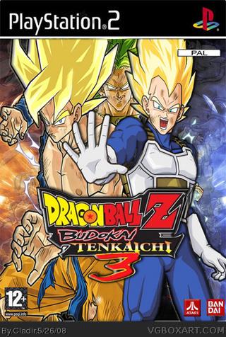 Dragon Ball Z Budokai Tenkaichi 2 Playstation 2 Box Art Cover By Cladir