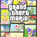 Grand Theft Mario Box Art Cover