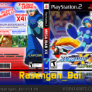 Mega Man X4 Box Art Cover