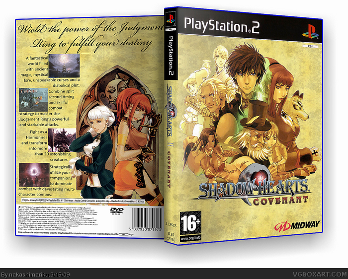Image result for shadow hearts combo
