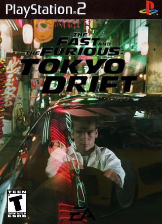 the fast and the furious tokyo drift playstation 2 box