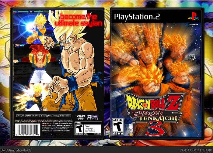 Dragon Ball Z: Budokai Tenkaichi 3 PlayStation 2 Box Art