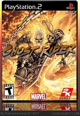 Ghost Rider box cover