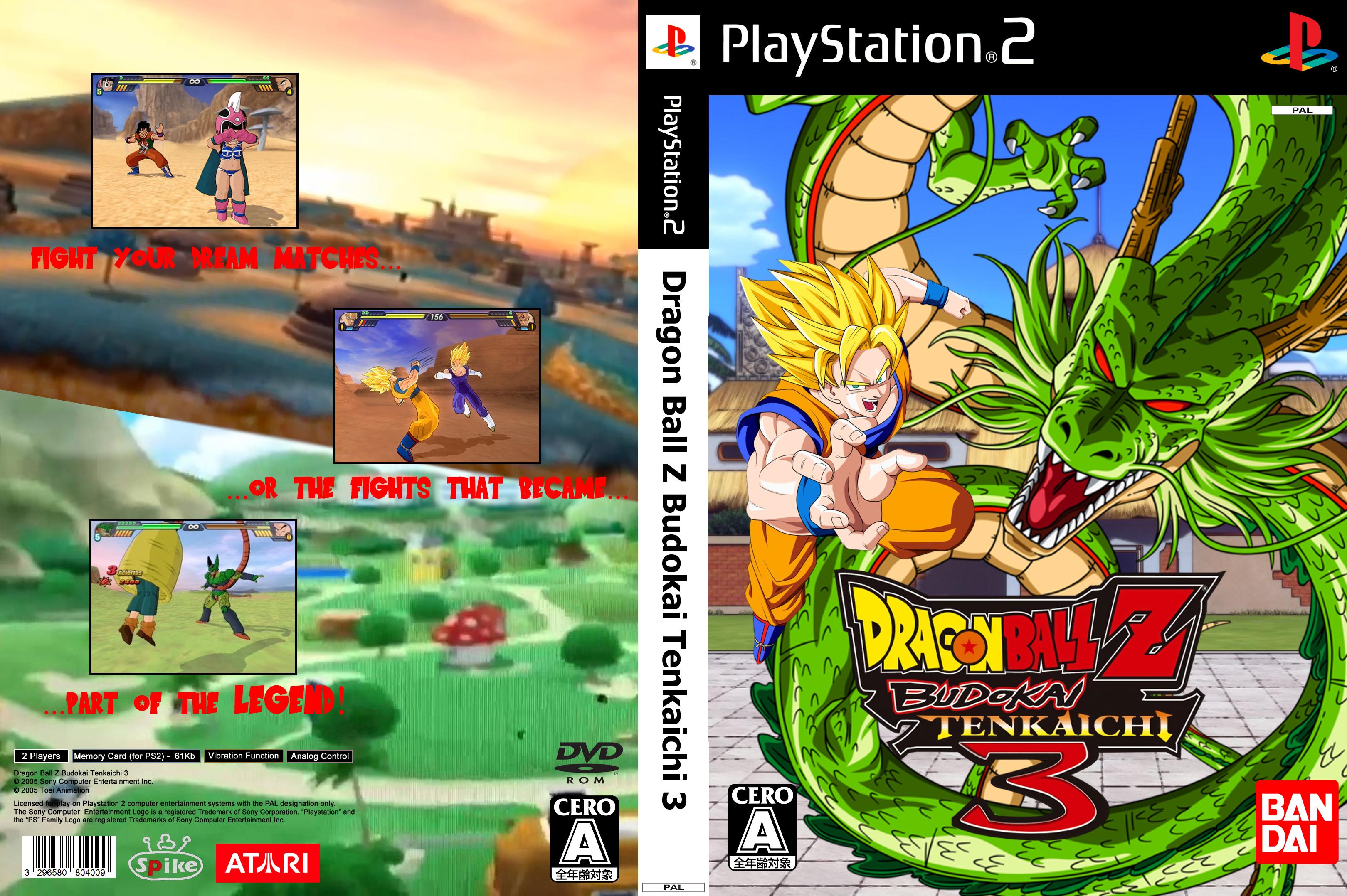 download dragon ball z budokai tenkaichi 3 playstation 2