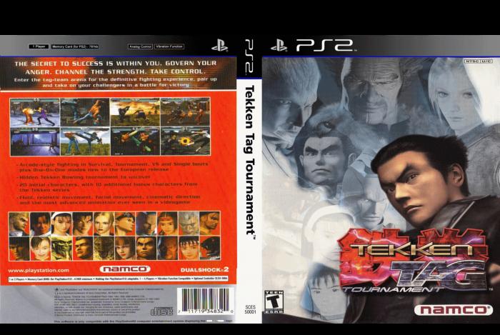 Tekken Tag Tournament Playstation 2 Box Art Cover By Chua Wei Jian