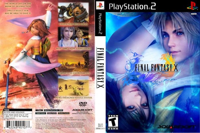 Image result for ffx ps2 cover