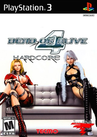 Dead Or Alive 4 Hardcore Playstation 3 Box Art Cover By Miami Boy