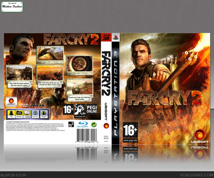Far Cry 2 PlayStation 3 Box Art Cover by MF29
