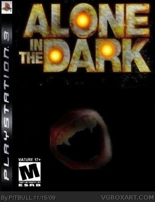 Alone In The Dark Playstation 3 Box Art Cover By Pitbull