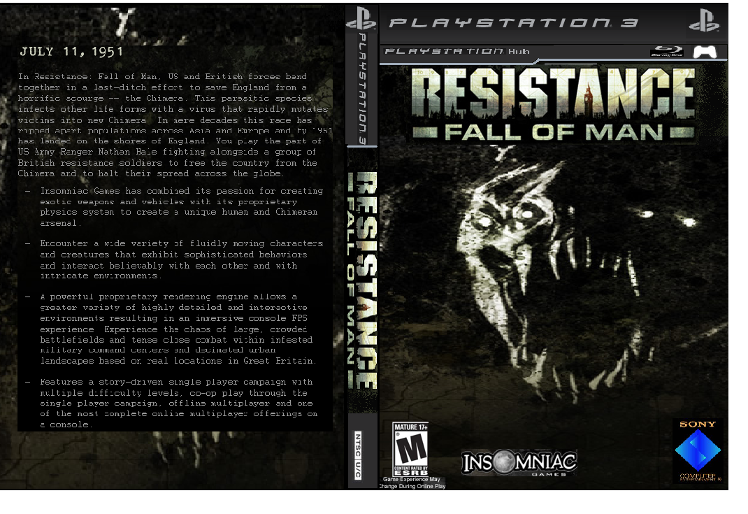 resistance fall of man - photo #36