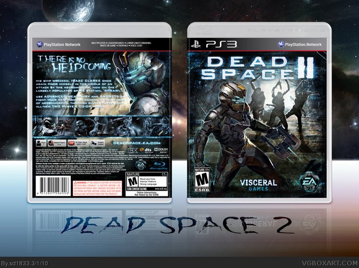 Get Off The Playstation 3 : Dead space playstation box art cover by sd