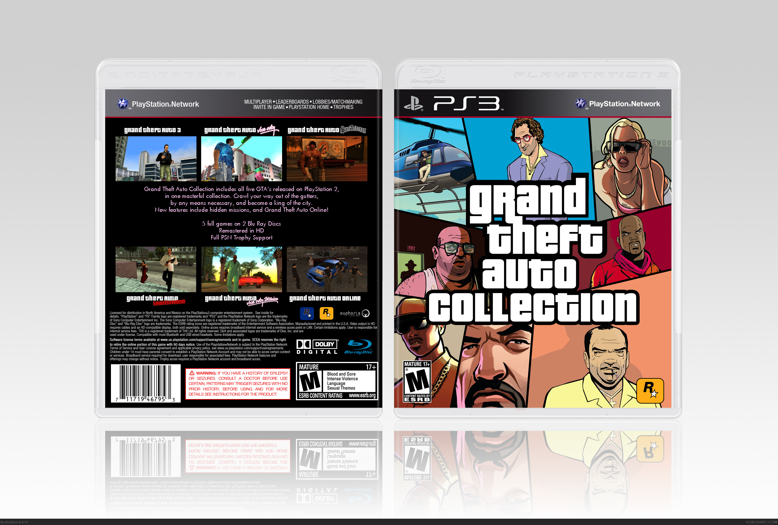 Grand Theft Auto Collection Old Full on xbox one game collection