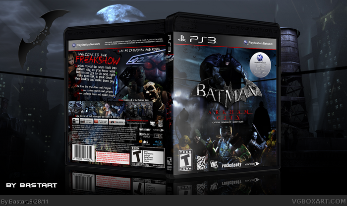 Batman Arkham City: Dark Knight Edition PlayStation 3 Box ...