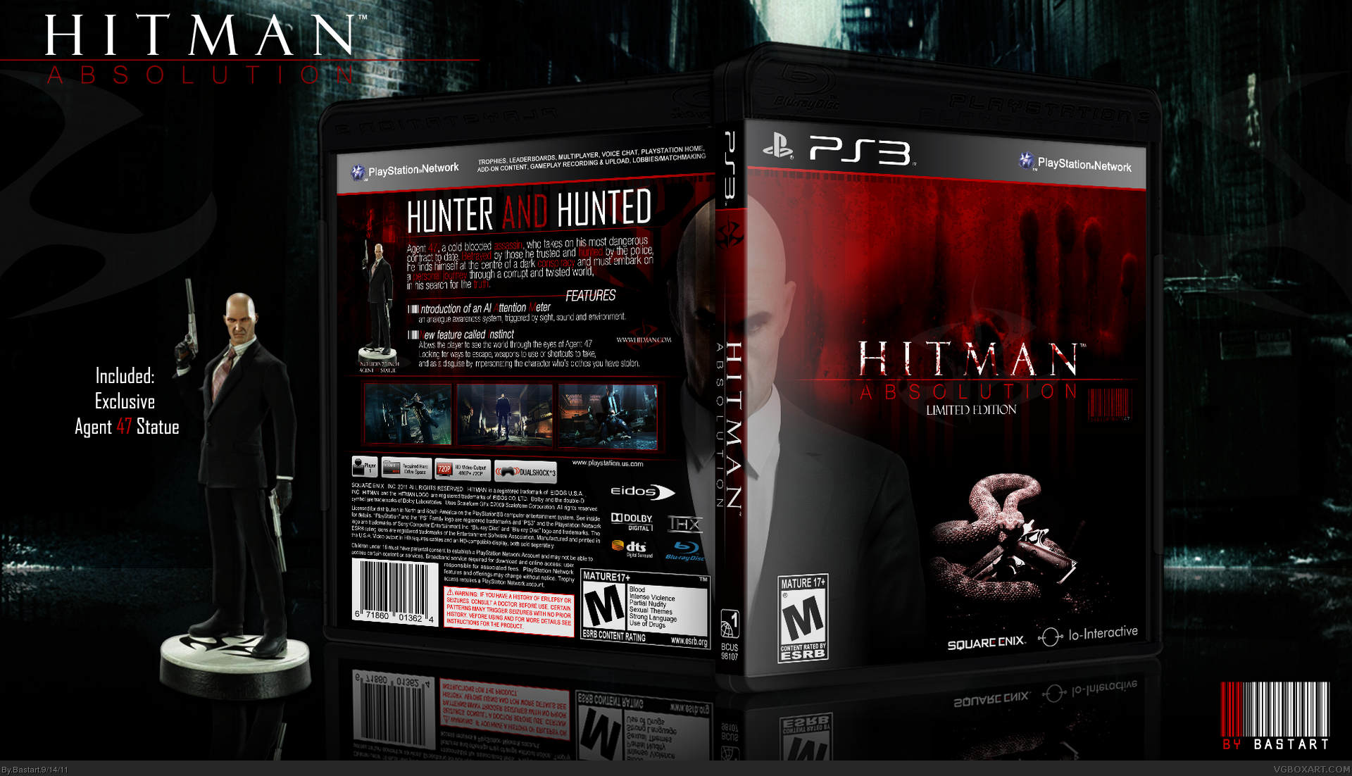 Hitman Absolution Fuse Box : Hitman absolution limited edition playstation box art