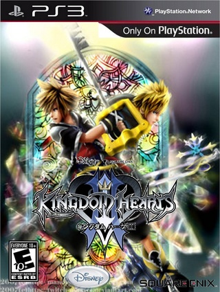 Kingdom Hearts III PlayStation 3 Box Art Cover by miguel88
