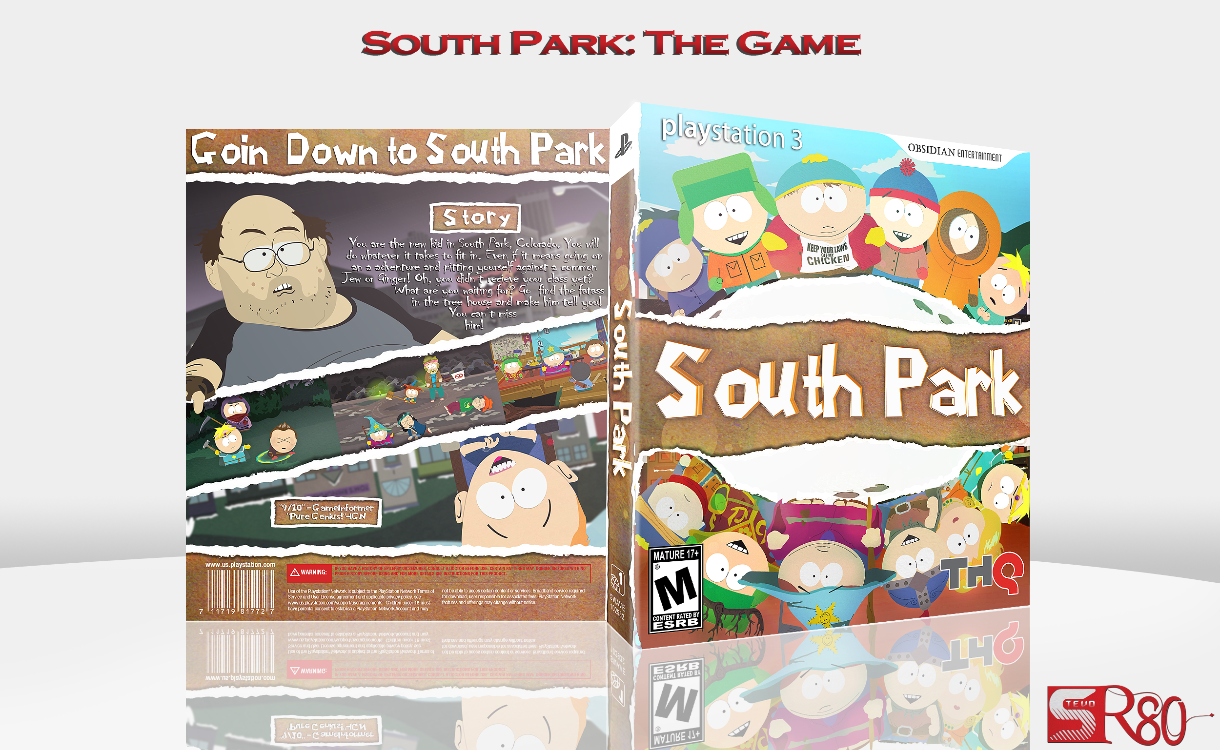 old south park game