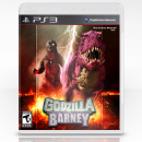 Godzilla VS. Barney Box Art Cover