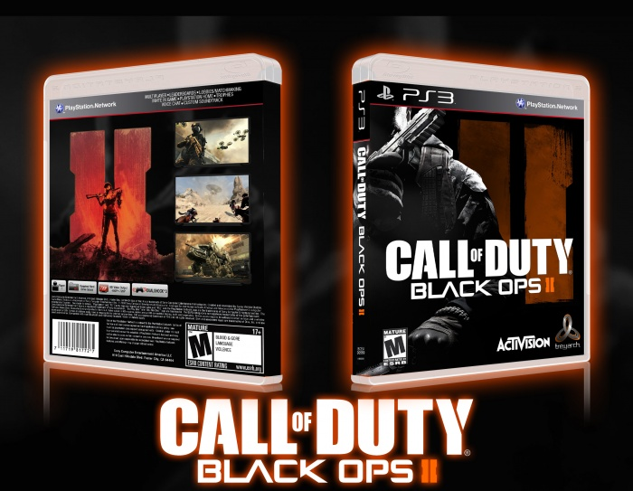 Call Of Duty Black Ops 2 PlayStation 3 Box Art Cover by Snoop Wogg