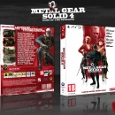 Metal Gear Solid 4 Box Art Cover
