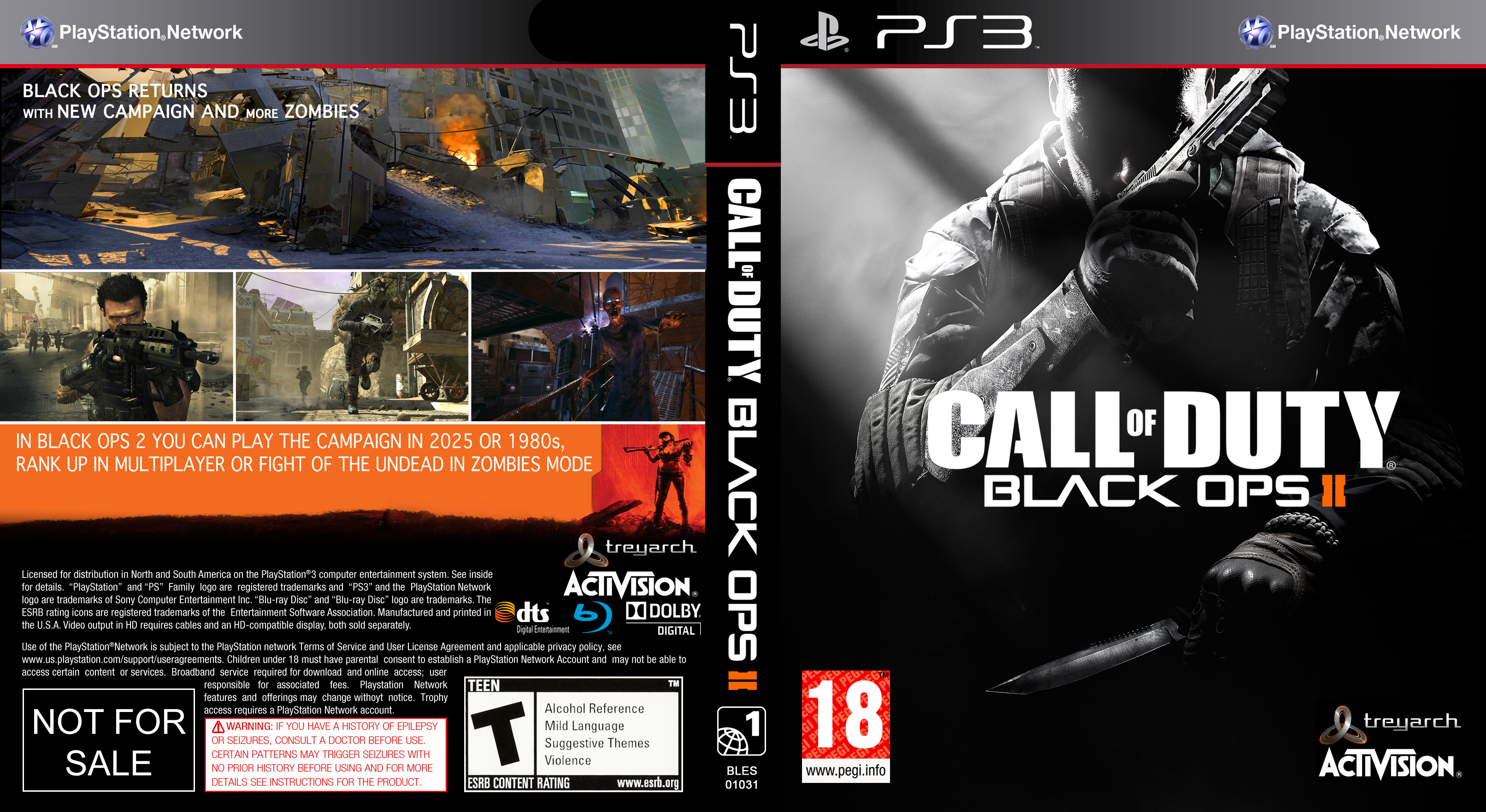 Call of Duty: Black Ops II PS3 ISO (EUR+DLC) | Free ...