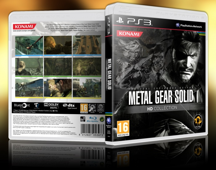 Metal Gear Solid HD Collection Limited Edition Announced