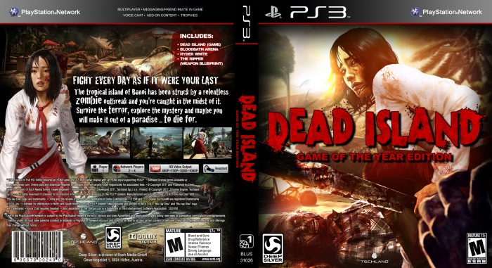 Dead Island Save Game Ps