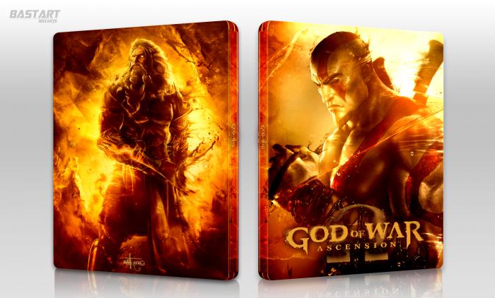 God Of War Ascension Playstation 3 Box Art Cover By Bastart