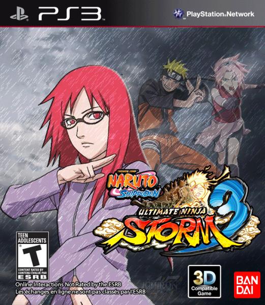 Naruto Shippuden Ultimate Ninja Storm 3 PlayStation 3 Box