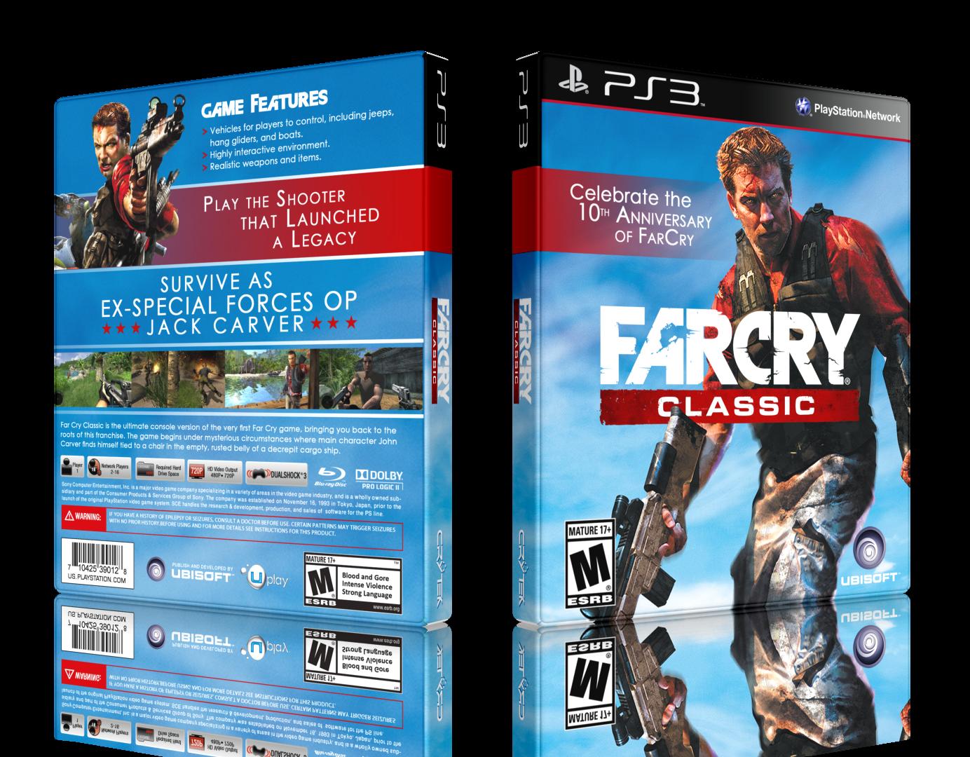Far Cry Classic Playstation 3 Box Art Cover By Lastlight