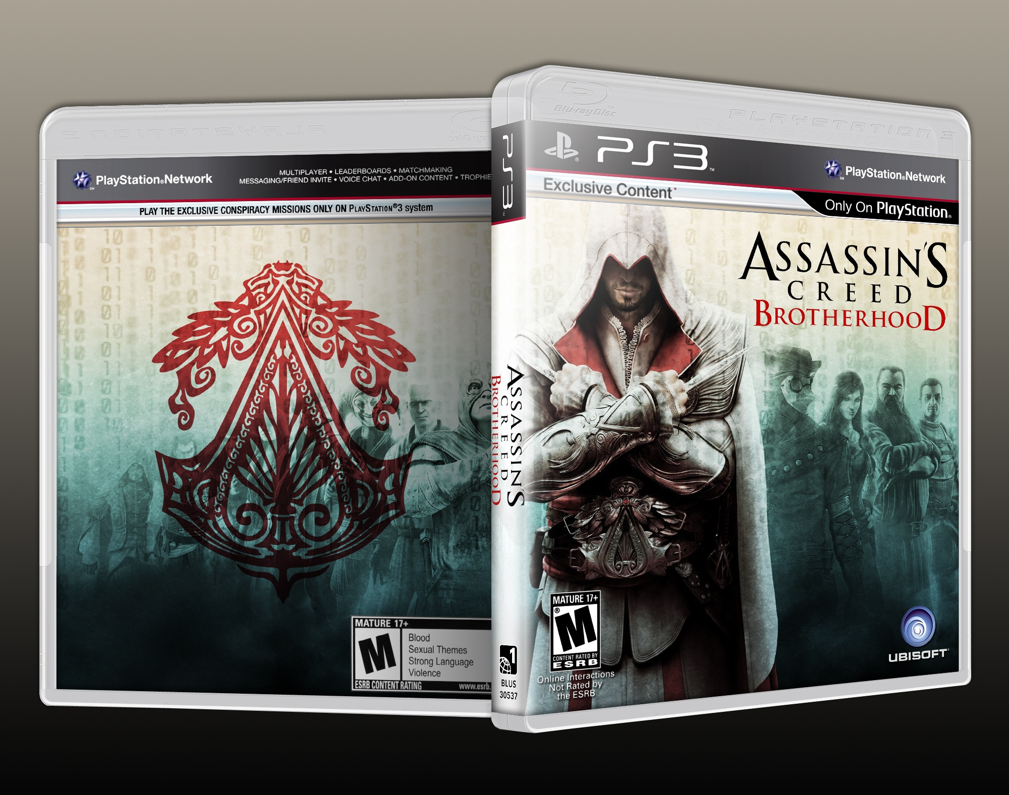 Assassin's Creed Brotherhood box cover