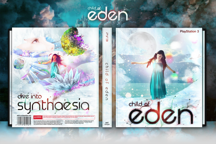 Children Of Eden Book Cover : Child of eden playstation box art cover by martiniii