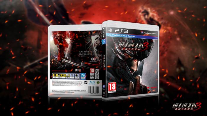 Ninja Gaiden 3 Playstation 3 Box Art Cover By Dogzilla